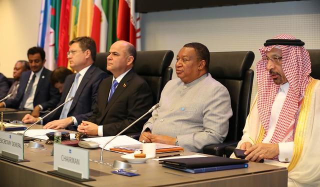 Ministro de Petróleo da Venezuela, Manuel Quevedo presidiu a 176ª sessão da OPEP, em Viena, Áustria - Créditos: Foto: Divulgação