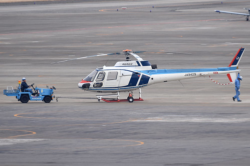 Aerospatiale AS350B Ecuriel 'JA9429'