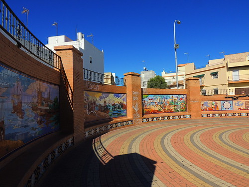 <Murales del Desembarco> La Puebla del Río (Sevilla)