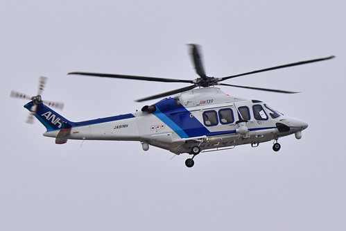 Agusta-Westland AW139 'JA91NH' All Nippon Helicopter