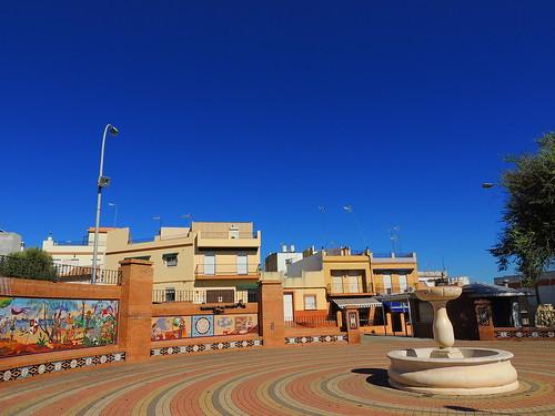 <Plaza del Desembarco> La Puebla del Río (Sevilla)