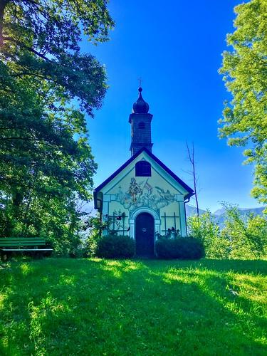 Florianiberg chapel in Oberaudorf, Bavaria, Germany