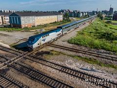 AMTK 31 | GE P42DC | CN Memphis Subdivision