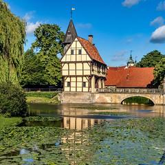 Das Schloss Steinfurt im Münsterland