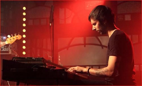 Tony Paeleman (Fender Rhodes) Vincent Peirani