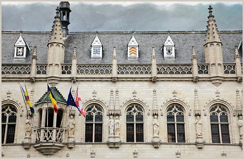Stafhuis (Hôtel de Ville) de Kortrijk (Courtrai) Flandre Occidentale, Belgium
