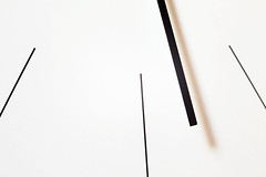 Abstract of a Simple Wall Watch