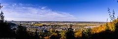 Lallenger Bierg - Panoramic view of Schifflange town