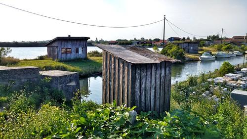 La Teste de Buch - Prés salés Est - Port de pêche