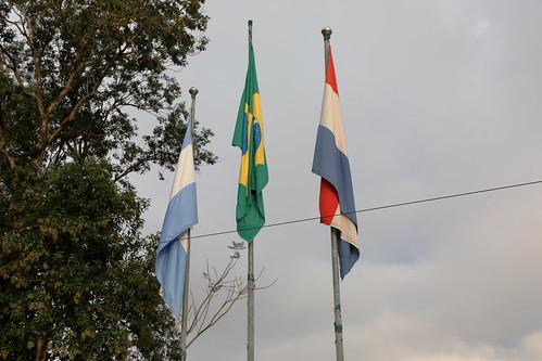 Marco das Três Fronteiras. Foz do Iguaçu, PR. Brazil. Jun/2019