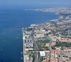 Aerial view of Belém, Lisboa