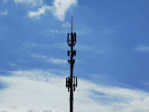 Multi-carrier tower in Röthenbach, Switzerland. Probably the most rural #5G site in the world right now