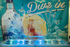 Deep Eddy Vodka Ice Sculpture