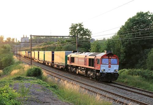 Crossrail DE6311 Seraing 05-07-2019