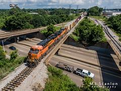 BNSF 6998 | GE ES44C4 | CN Memphis Subdivision