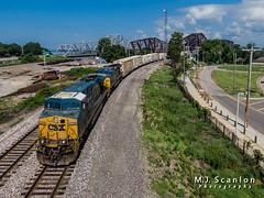 CSXT 5334 | GE ES40DC | UP Memphis Subdivision