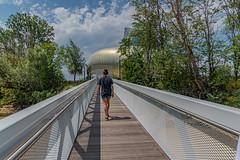 25-Pont d'accès à la cité du vin - Photo of Bouliac