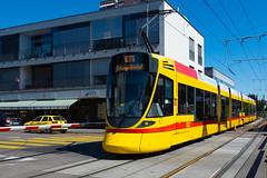 BLT Tram Stadler Tango Be 6/10 163