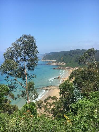 Playa de Aguilar and Cudillero, Asturias