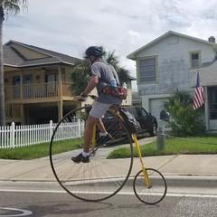 Uncommon Bicyclist
