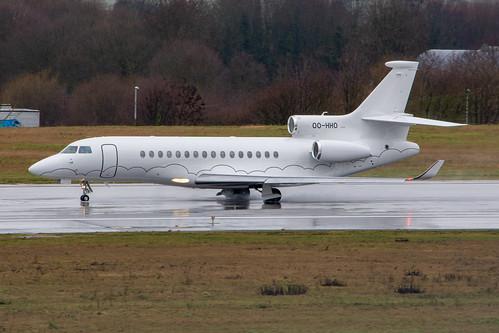Luxaviation Belgium Falcon 8X OO-HHO