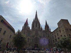 Barcelona Cathedral and the Palaces