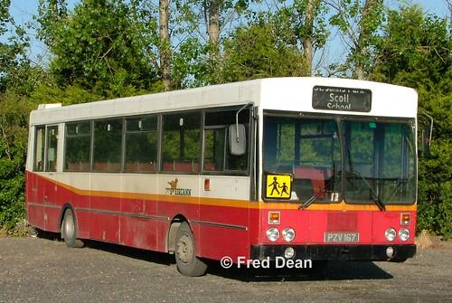 Bus Eireann KS167 (PZV167).
