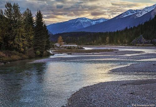 Kicking Horse River, Yoho National Park, Field, British Columbia, Canada