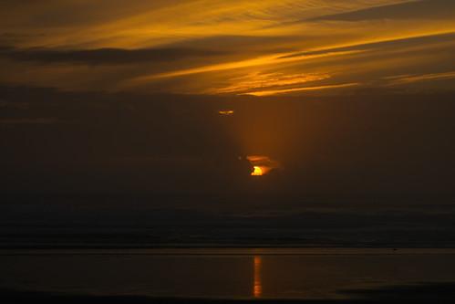 Sunset @ Rockaway Beach, Or