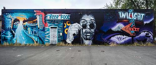 Twilight Exit mural
