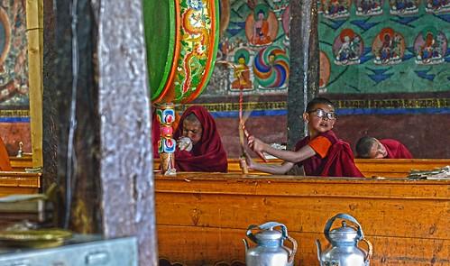 Blow Drum Sleep Thicksey Monastery  DSC_4615