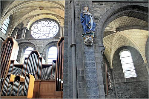 Eglise Saint-Quentin, Tournai, Province du Hainaut, Belgium