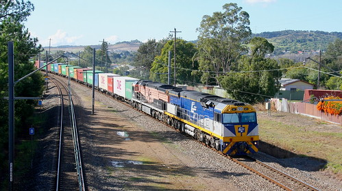 CF4411 & CF4412 CRAWFORDS 4190 SANDGATE TO COOKS RIVER FREIGHT- TERALBA 7th July 2019.