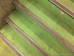 Green staircase - Photo of Léguevin