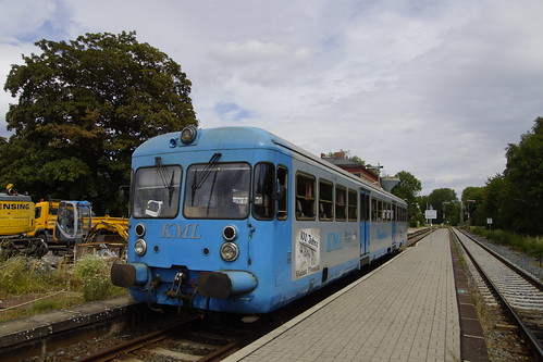 Wipperliese VT 407 in station van Klostermansfeld 06-07-2019