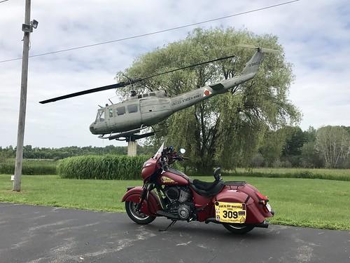 07-06-2019 Ride - Tour Of Honor Huey - Waupaca,WI