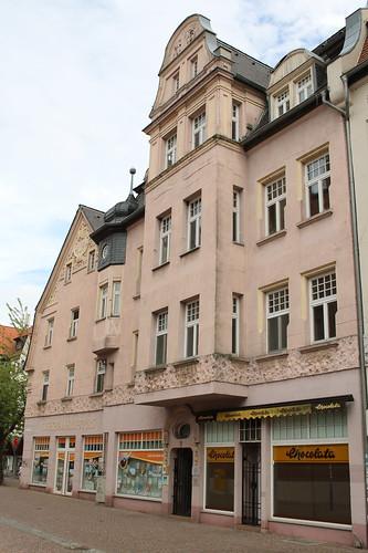 Bitterfeld-Wolfen: Jugendstil-Haus in Bitterfeld