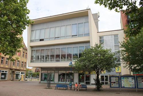 """Bitterfeld-Wolfen: Ehemaliges """"Cafe am Markt"""""""