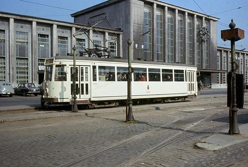 belgium - sncv 41010 mons 28-8-1966