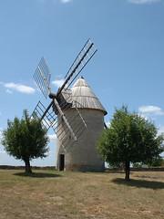 Lamothe-Cassel - Moulin à vent de Lamothe - Photo of Saint-Germain-du-Bel-Air