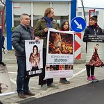 Демонстрация, с. Маджерито (27.11.2017)