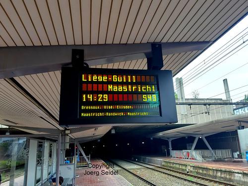 BE-4000 Liege SNCB Gare/Bahnhof Saint-Lambert Juni 2019