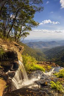 Morans Falls, Lamington National Park, Queensland, Australia