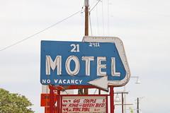 Motel 21 in Albuquerque Route 66 7.5.2019 0944