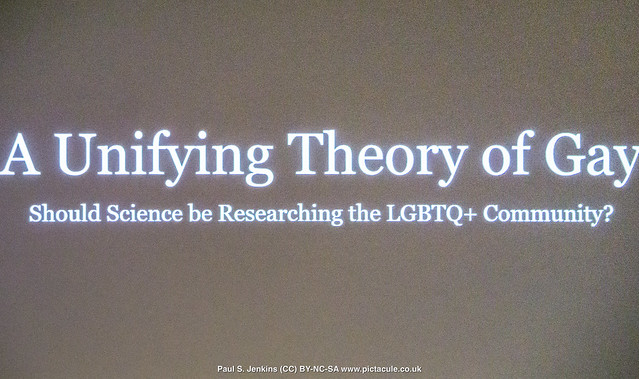 A Unifying Theory of Gay - Cerys Bradley - Winchester Skeptics