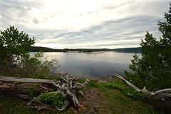 MIGHTY MICHIPICOTEN RIVER near MICHIPICOTEN FIRST NATION, MICHIPICOTEN RIVER VILLAGE and WAWA ON CANADA, ACA PHOTO