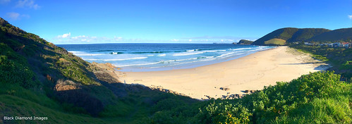 Winter View along Blueys Beach, Pacific Palms, Mid North Coast, NSW