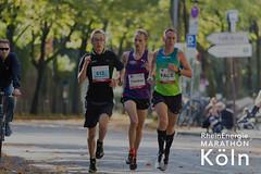 Junge Teilnahme beim RheinEnergie Marathon Köln