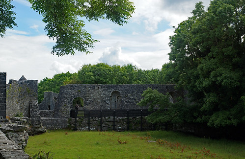 2019-06-07 06-22 Irland 466 Connemara, Oughterard, Athenry Castle