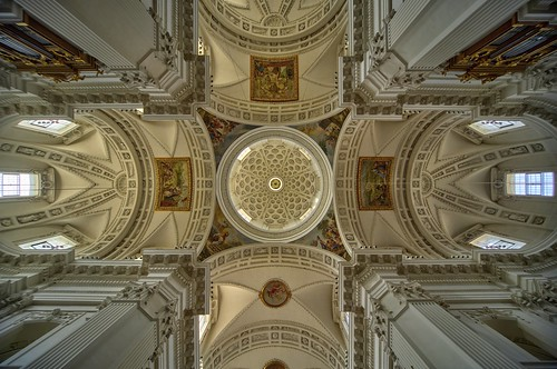 St Usus Cathedral ceiling